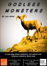 Godless Monsters Eflyer